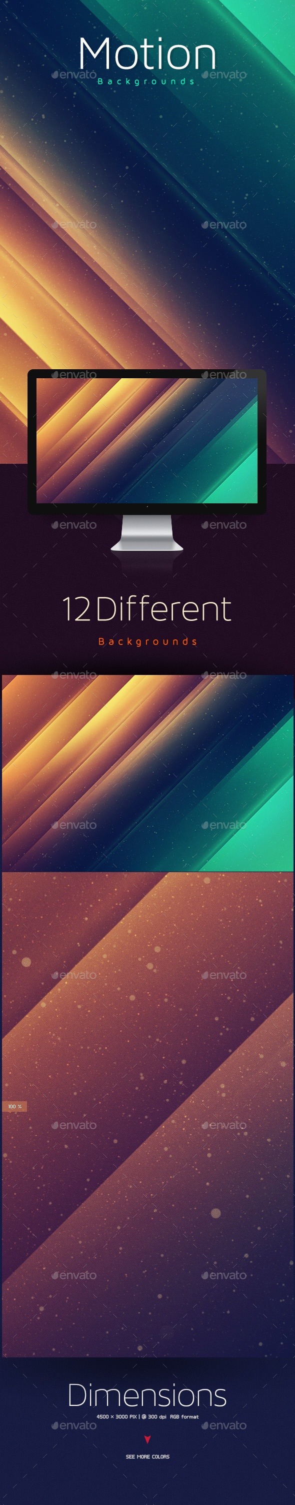 GraphicRiver Motion Abstract Backgrounds 10199443
