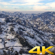 Snow on Green Tea Plantations 1 - VideoHive Item for Sale