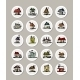 Set of Icons with Houses - GraphicRiver Item for Sale