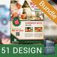 Food Shop Print Bundle - GraphicRiver Item for Sale