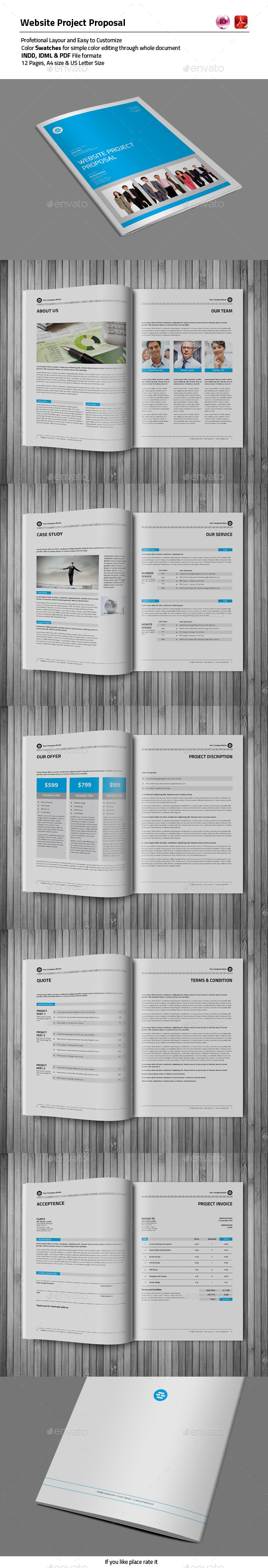 GraphicRiver 12 Pages Proposal Template 10200156