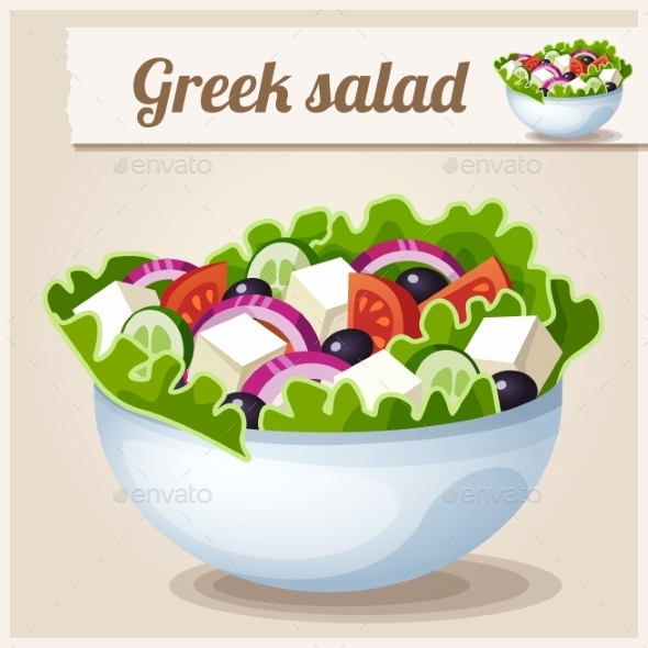 GraphicRiver Greek Salad 10200165