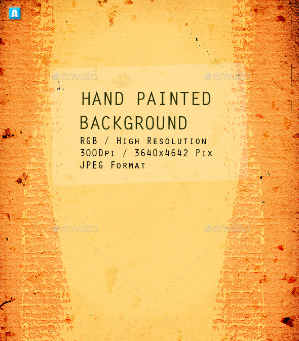 GraphicRiver Hand Painted Background 0075 10200178
