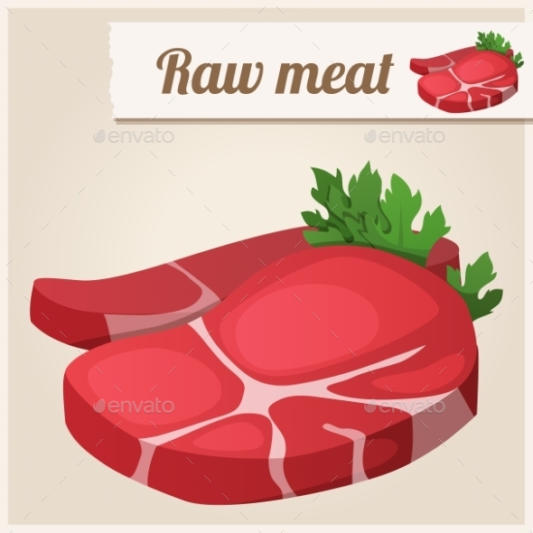 GraphicRiver Raw Fresh Meat 10200722
