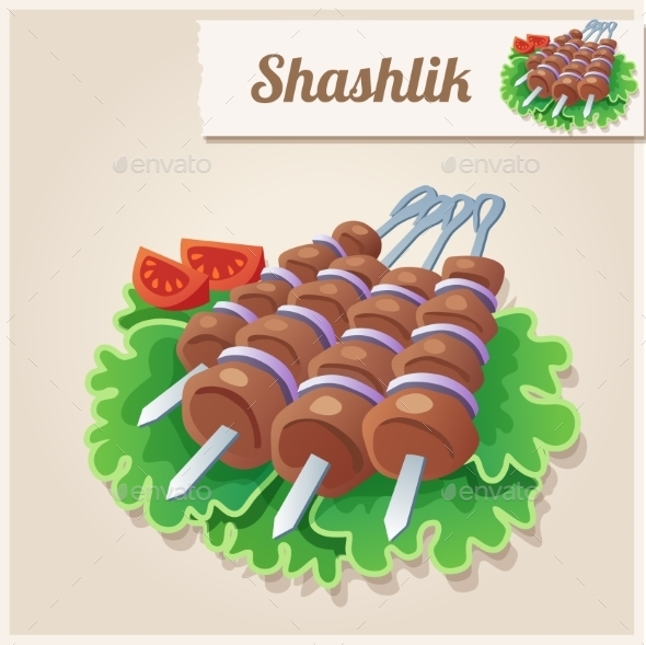 GraphicRiver Shashlik 10200724