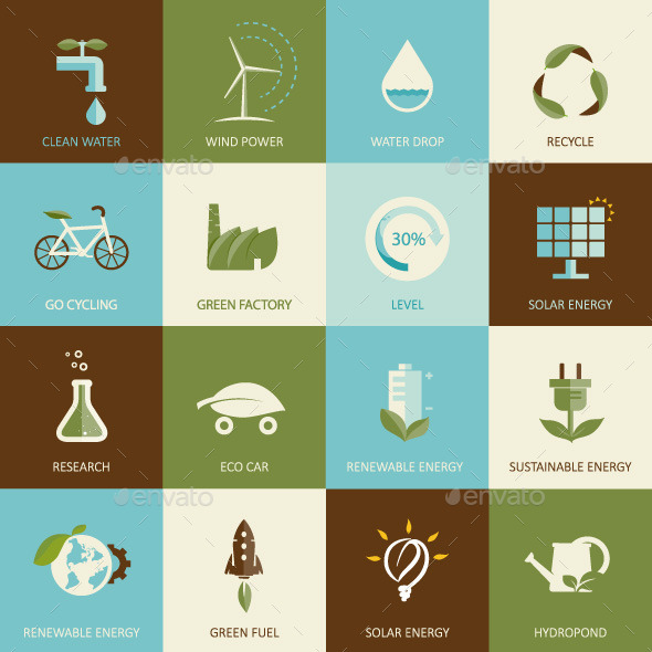GraphicRiver Set of Eco Concepts 10200726