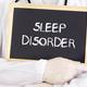 Doctor shows information on blackboard: sleep disorder - PhotoDune Item for Sale
