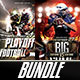 Football  Bundle Flyer - GraphicRiver Item for Sale