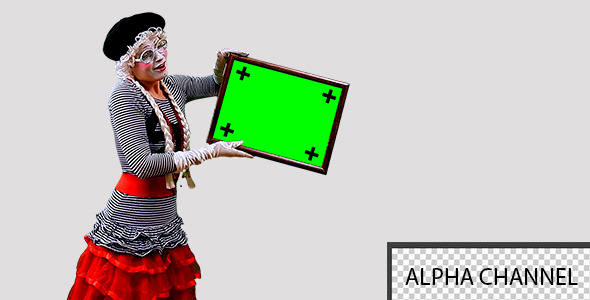 Mime With a Sign 3
