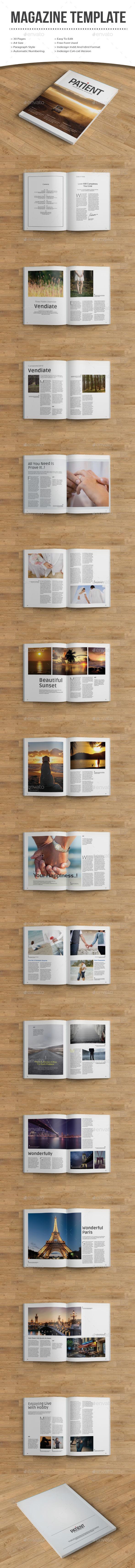 GraphicRiver patient magazine 10201369