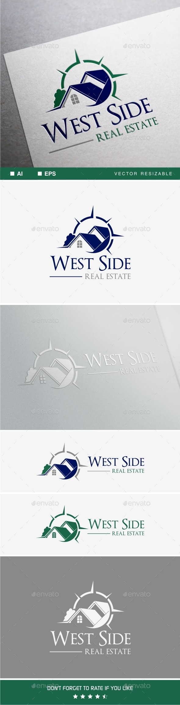 GraphicRiver West Side Real Estate 10201459