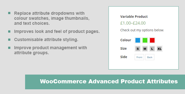 CodeCanyon JC WooCommerce Advanced Product Attributes 10201812