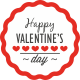 Valentine's Day Badges - GraphicRiver Item for Sale