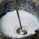 Rotating Whisk Mixer Immersed in Plaster Mix - VideoHive Item for Sale