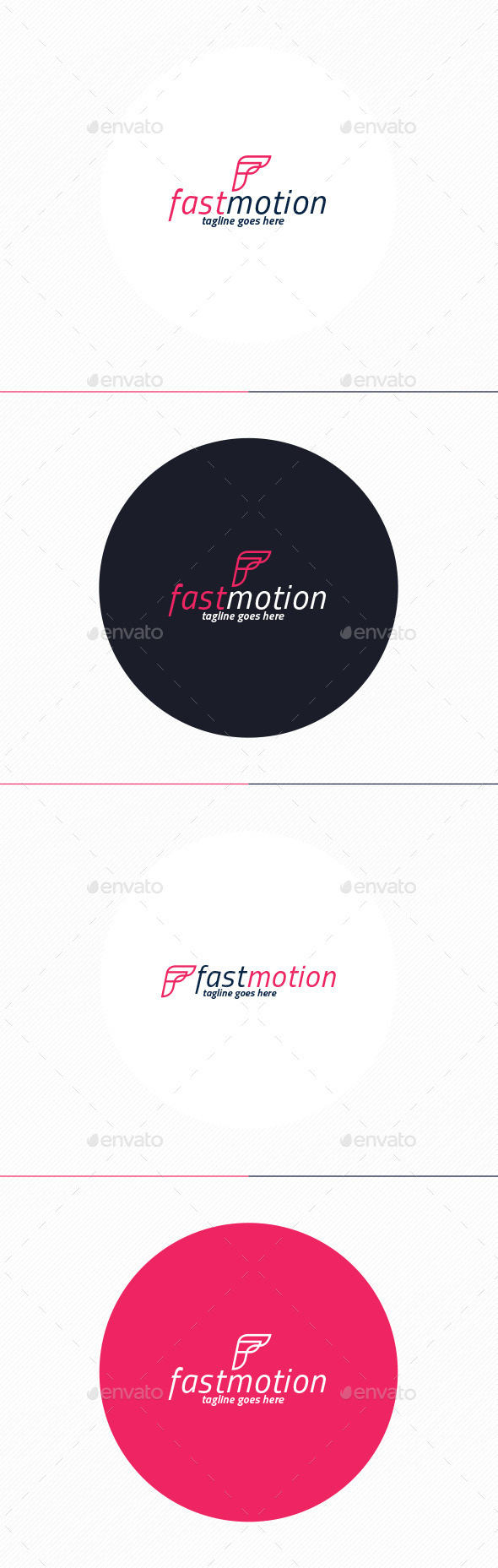 GraphicRiver Fast Motion Logo Letter F 10202161