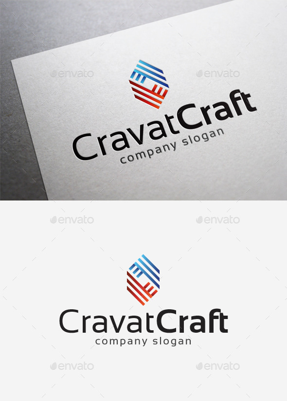 GraphicRiver Cravat Craft Logo 10202192