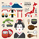 Infographic Japan Travel Design. - GraphicRiver Item for Sale