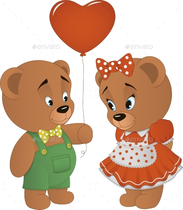 Bears with Heart