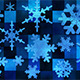 Broadcast Spinning Snow Flakes 02 - VideoHive Item for Sale