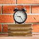 The old clock and old books - PhotoDune Item for Sale