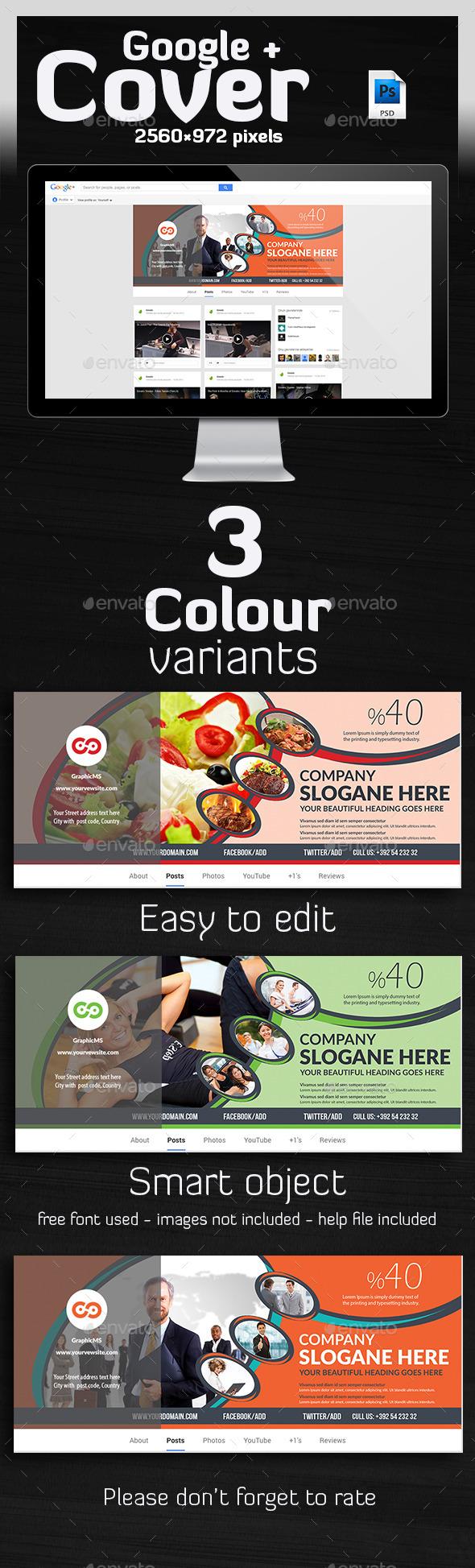 GraphicRiver Multipurpose Google Plus Cover 10203808