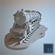 Steam Locomotive Train - 3DOcean Item for Sale