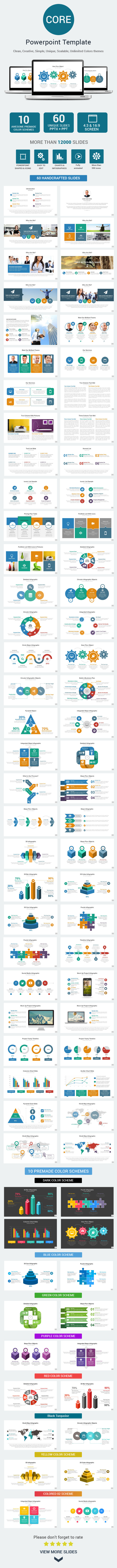GraphicRiver Core PowerPoint Presentation Template 10204913