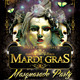 Mardi Gras Masquarade Flyer Template - GraphicRiver Item for Sale