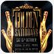 Golden Black Saturdays Flyer Template - GraphicRiver Item for Sale