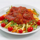 Fresh Penne Pasta and Meatballs - PhotoDune Item for Sale