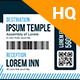 Multipurpose Boarding Pass Invitation Template - GraphicRiver Item for Sale