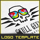 Skull Geek - Logo Template - GraphicRiver Item for Sale
