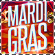 Mardi Gras Crazy Circus Party Flyer - GraphicRiver Item for Sale