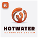 Hot Water Logo - GraphicRiver Item for Sale