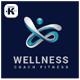 Fitness Wellness Logo - GraphicRiver Item for Sale