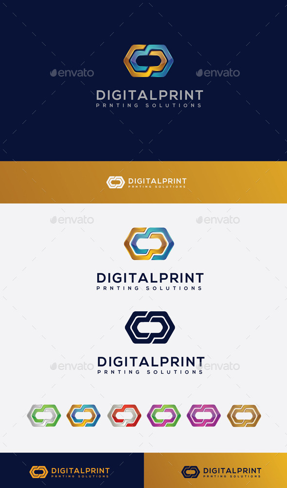 GraphicRiver Digital Print Logo 10205849