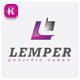 L Letter Logo - GraphicRiver Item for Sale
