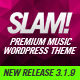SLAM! Music Band, Musician and Dj Wordpress Theme - ThemeForest Item for Sale