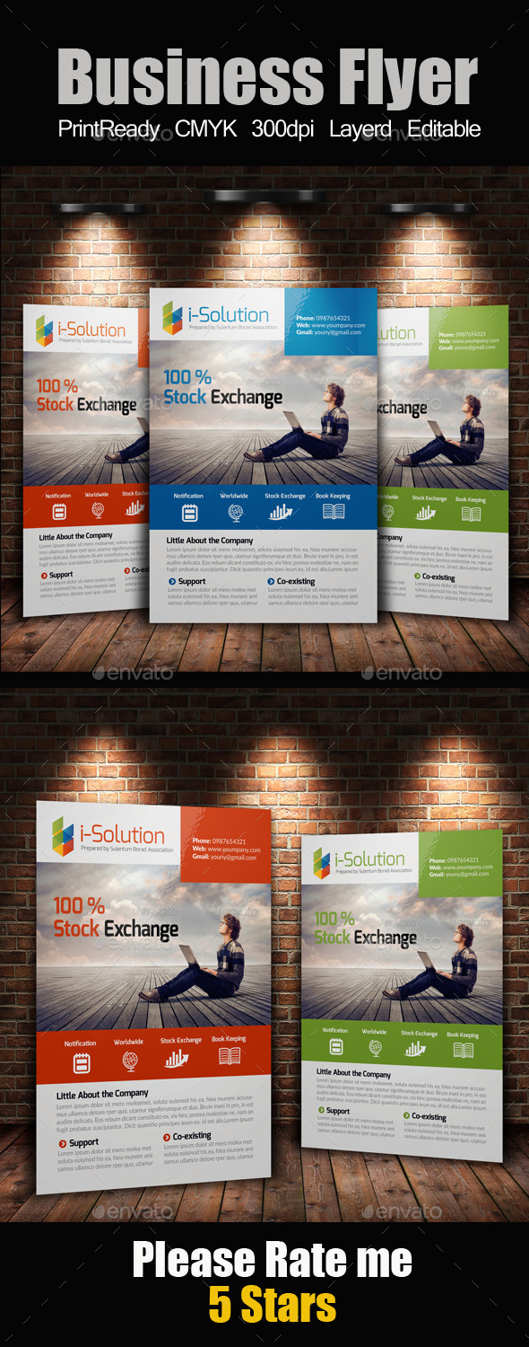 GraphicRiver A4 Multi Use Business Flyer 10207956
