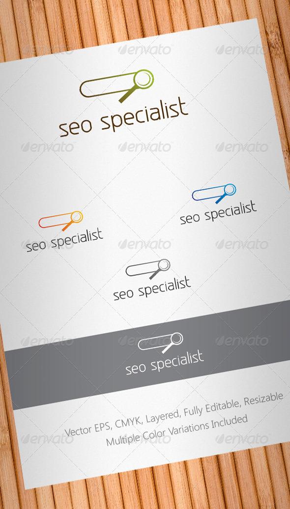 Graphic River Seo Specialist Logo Template V2 Logo Templates -  Symbols 1028383