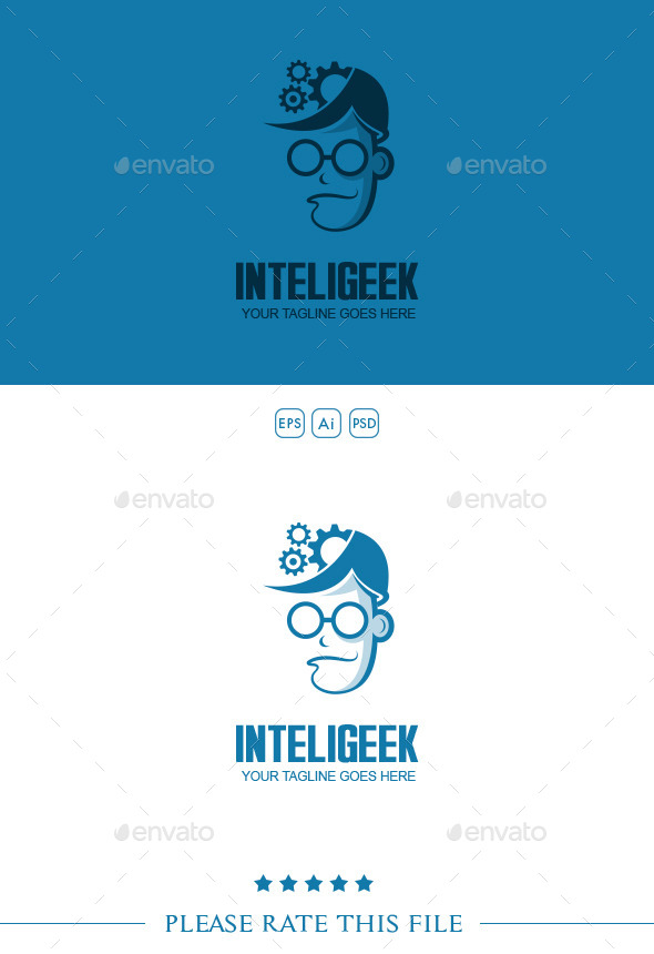 GraphicRiver Geek Logo 10207985