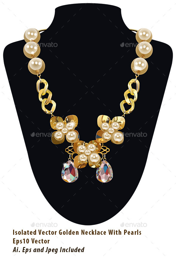 GraphicRiver Pearl Necklace 10207996