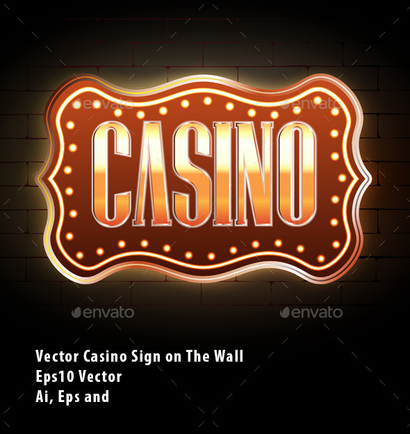 GraphicRiver Casino Sign 10208345