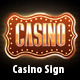 Casino Sign - GraphicRiver Item for Sale