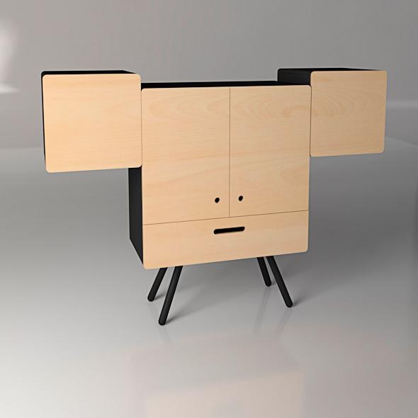 3DOcean Cabinet design 10208542
