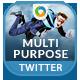 2 Multipurpose Twitter Headers - GraphicRiver Item for Sale
