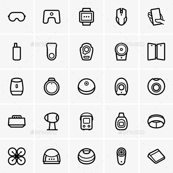 GraphicRiver Modern Gadgets 10213071