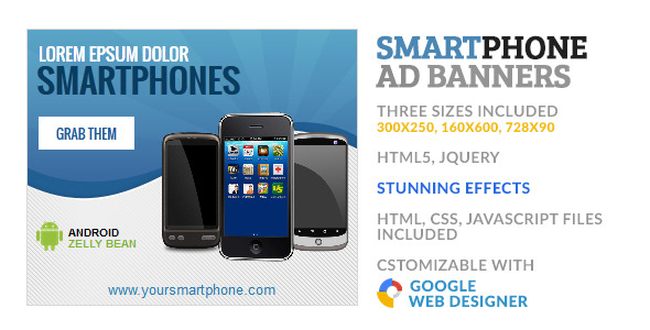 CodeCanyon SmartPhone Store GWD HTML5 Ad Banner 10213853