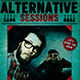 Alternative sessions Flyer Template - GraphicRiver Item for Sale