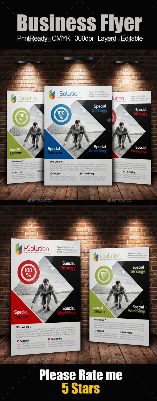 GraphicRiver Creative Multi Use Business Flyer 10214508